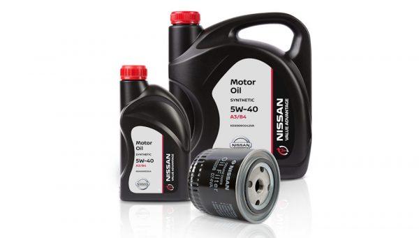 Автомобильные жидкости компании Nissan